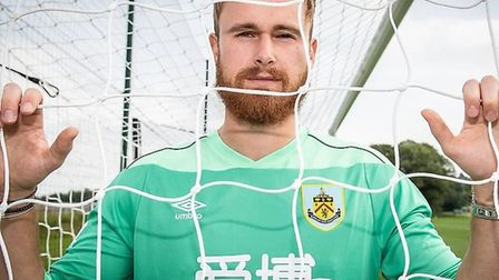 Will Norris has signed for Burnley. Picture: BURNLEYFC