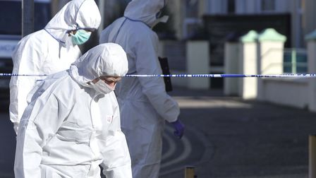 Forensics officers play an important role in police operations. Picture: ARCHANT LIBRARY