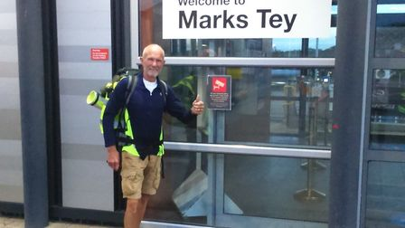 Brian Edwards, 68, was told he might not ever walk again - and has just completed a 360-mile walk fo