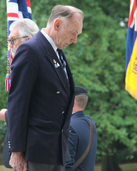 VJ Day commemorations in Christchurch Park, Ipswich. Picture: IPSWICH WAR MEMORIAL PROJECT