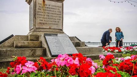 Felixstowe commemorates VJ Day by holding a service to pay tribute to those who fought in the Far Ea