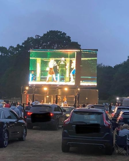 The scene at Contenders 30: Drive-In at Taverham Hall in Norwich Picture: CONTENDERS