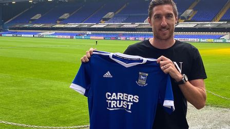 New Ipswich Town left back Stephen Ward Picture: ITFC