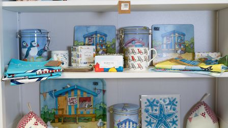 Some of the shop's wares have a coastal theme to them Picture: Ruby and Scarlet