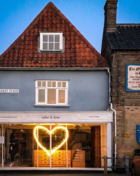 Collen and Clare has been a Southwold High Street staple since it opened nearly 20 years ago Picture