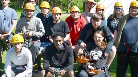 A previous Prince's Trust Team Programme run by Inspire Suffolk in Ipswich. Picture: INSPIRE SUFFOLK