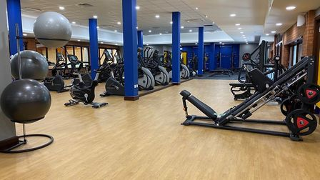 The new gym at Kingfisher Leisure Centre created as part of a £2,4m project Picture: ABBEYCROFT LEIS