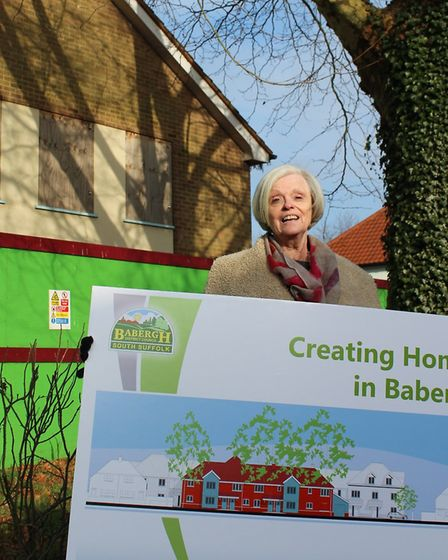 Councillor Jan Osborne, cabinet member for housing at Babergh District Council at the Angel Court de