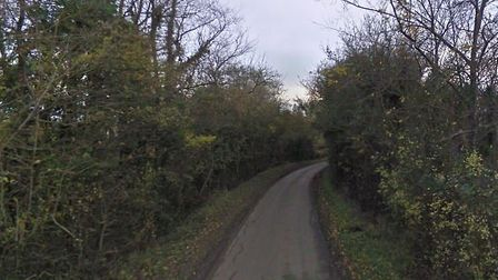 Suffolk Fire and Rescue Service was called to a crash in the Fenstead End Picture: GOOGLE MAPS
