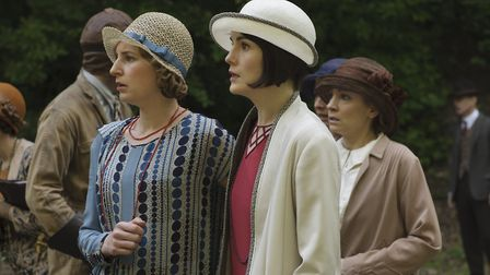 Best pals Laura Carmichael and Michelle Dockery bonded on the set of Downton Abbey playing Lady Edit