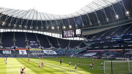 Ipswich Town are set to play at the Tottenham Hotspur Stadium in a pre-season game. Photo: PA