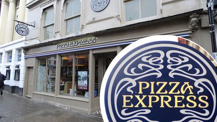 The Pizza Express restaurant in Sudbury is earmarked for closure Picture: ARCHANT/PA IMAGES