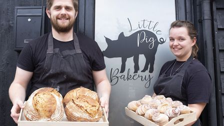Zoe and Tristan Hasler ran The Barn Cafe at Alder Carr Farm for five years. Now they are running a b