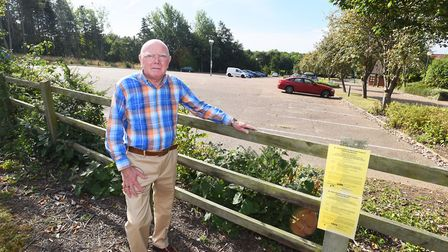 Frank Warby resigned from West Suffolk Council in June. Picture: GREGG BROWN