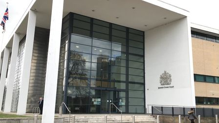 Ross Smith entered not guilty pleas to four charges at Ipswich Crown Court Picture: ARCHANT