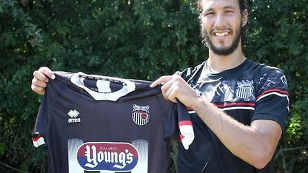 Former Ipswich Town player Bilel Mohsni is back in English football. Picture: GTFC