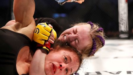 Cory McKenna is the youngest British fighter in the UFC Picture: DOLLY CLEW/CAGE WARRIORS