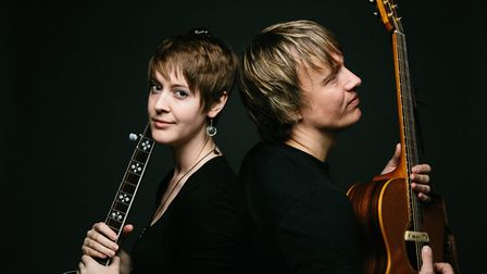 Suffolk duo Honey & The Bear will be performing live at Virtual FolkEast this year Photo FolkEast