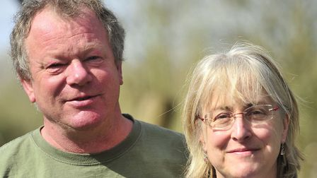 John and Becky Marshall-Potter have managed to keep music live at the Virtual FolkEast festival this