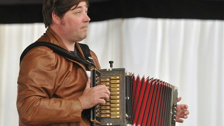 John Spiers will be performing and answering gardening questions at Virtual Folk East this year Pho