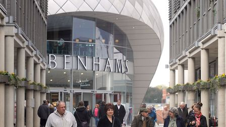 Debenhams, Arc shopping centre at Bury St Edmunds where it is alleged 20 staff have been made redund
