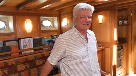 John Buckley, owner of Harbour Marine Services Ltd of Southwold Picture: SIMON HAZELGROVE