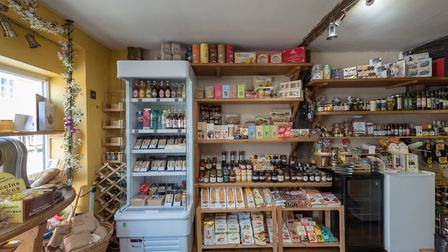 Ferguson's Delicatessen in Hadleigh which is on the market Picture: CHRIS POPE/CHAPMAN STICKELS