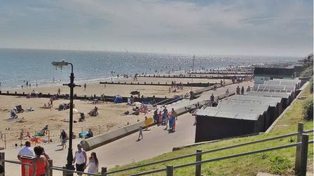 Frinton and Walton Town Councillor Terry Allen has complained about the crowds of visitors and illeg