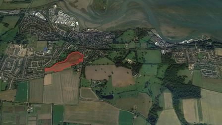 The green gap between Mistley, Manningtree and Lawford has been saved from development after Tendrin