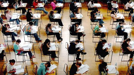 Students have the option of sitting an exam in the autumn if they wish. File picture: PA WIRE/RUI VI
