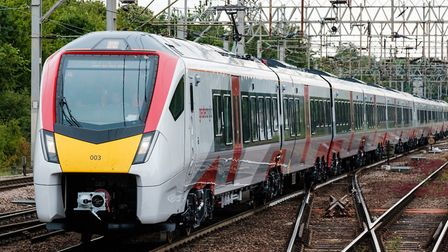 Rail services have been delayed due to flooding at Colchester. Picture: NICK STRUGNELL/GREATER ANGLI