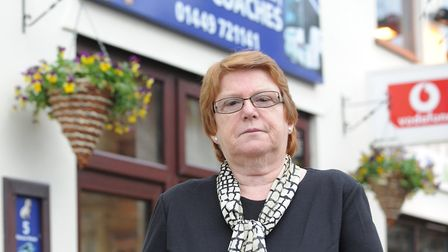 Avril Read, boss of Angus Travel in Needham Market, is shutting the business after 23 years. Pictur