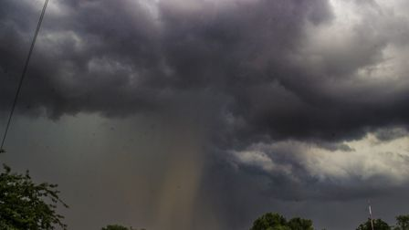 Thunderstorms are expected in parts of Suffolk following some of the hottest weather of the year Pi