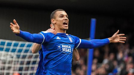 Kayden Jackson is entering the final year of his Ipswich Town contract. Picture: Steve Waller