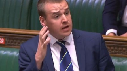 Ipswich MP Tom Hunt Picture: HOUSE OF COMMONS