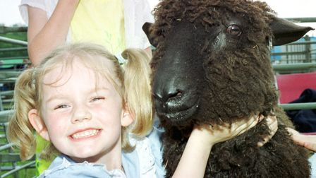 Everyone loves a Wensleydale lamb - captired at the South Suffolk Show in 2000 Picture: KEITH MINDHA