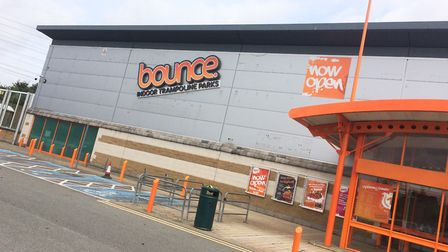The Bounce trampoline centre in Ipswich has not survived the lockdown. Picture: GREGG BROWN