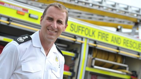 Mark Hardingham from Suffolk Fire and Rescue is leaving his role as chief fire officer to chair the