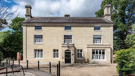 Toppesfield Hall in Hadleigh is on the market for £935,000. Picture: Chapman Stickels