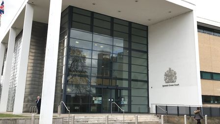 Gbolahan Adelabu denied threatening a person with a knife at Ipswich Crown Court Picture: ARCHANT
