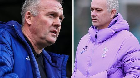 Paul Lambert and Jose Mourinho go head-to-head this afternoon. Picture: ARCHANT/PA