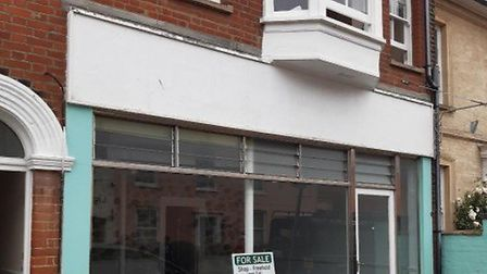 The former estate agents sits on Aldeburgh High Street Picture: FENNEL