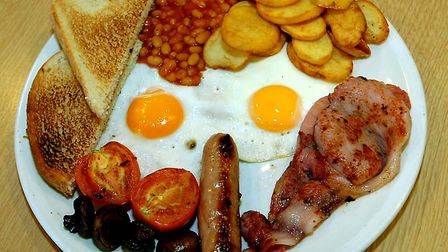 An Olympic Breakfast - could you clear your plate, as Prince Harry is said to have done? Picture: WE