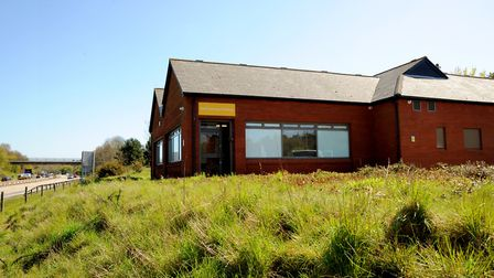 The former Little Chef on the A14 by the Orwell Bridge at Nacton was turned into a training space by