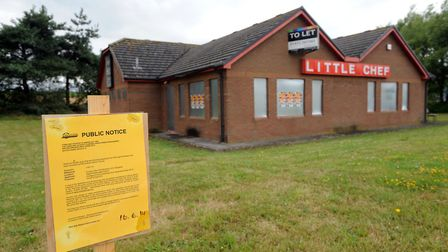 The former Little Chef at Haughley - it was proposed in 2014 it should become a church Picture: PHIL