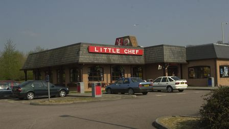 The Little Chef at Beacon Hill Services in 2002 Picture: JAMIE NIBLOCK/ARCHANT