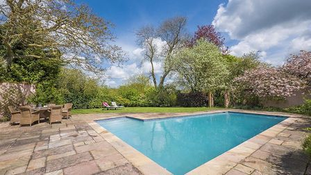 The swimming pool at the Fenn in Monks Eleigh, available from David Burr Picture: CHEVRON PHOTOGRAPH