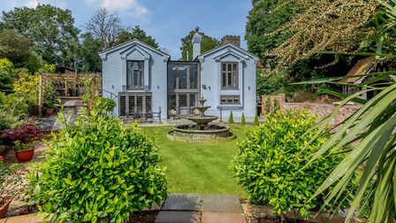 This family home in Church Lane, Playford, has a guide price of £1,200,000 Picture: STRUTT & PARKER