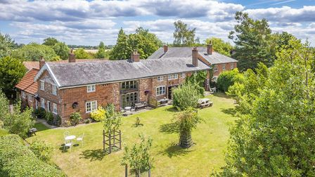 This former farm complex at Edwardstone near Sudbury has a guide price of £2,250,000 from David Burr