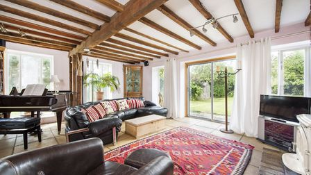 Stunning beams at The Grove, Edwardstone, available from David Burr Picture: CHEVRON PHOTOGRAPHY